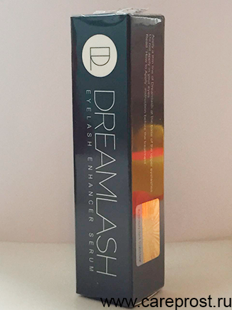 упаковка Дримлаша с голограммой